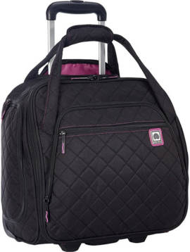 Delsey Rolling UnderSeat Tote