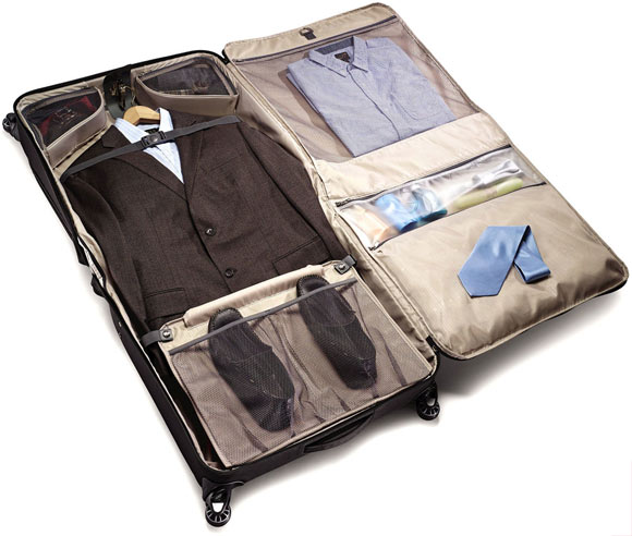 Deluxe Voyager Garment Bag Inside
