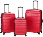 Rockland Melbourne Luggage Set