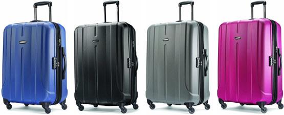 Samsonite Luggage Fiero Hs Spinner Keeps Contents On Lock
