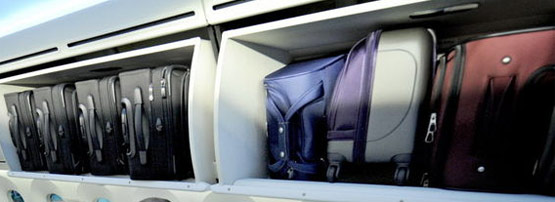 Different Compartment Luggage Types